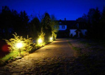 Pensjonat Mięta i Woda - wieczór w pensjonacie